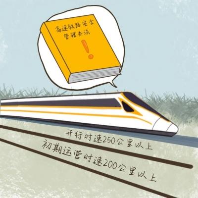 重磅!《高速铁路澳门威尼斯人线上网址防护管理办法》正式实施