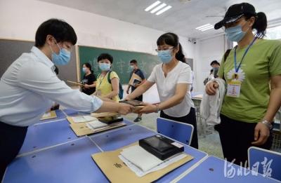 河北邯郸:备战疫情下的高考