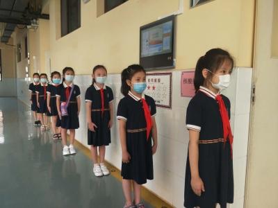 核酸檢測迎開學 保護師生健康安全