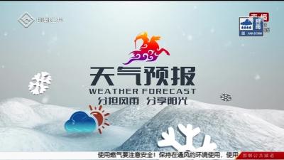 民生大视野 08-12 天气预报