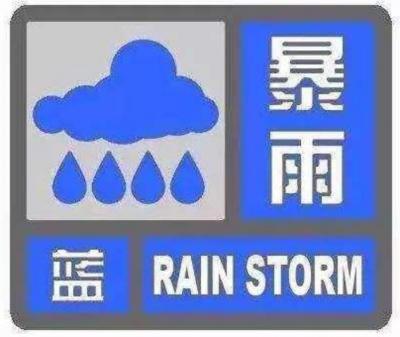 河北下发紧急通知!暴雨蓝色预警!大风蓝色预警……