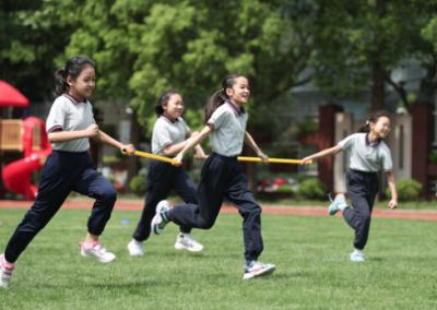 新華網評:成長路上與運動相伴
