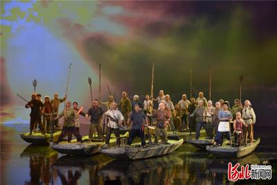 向建党100周年献礼|河北大型民族歌剧《雁翎队》 震撼首演!