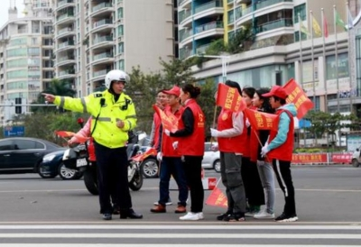 邯郸市公安局:共建文明秩序,点亮文明道路