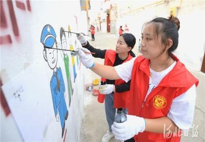 邱县:胡同漫画引领社会新风尚