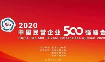 我省32家企业入围中国民企500强 我市多家企业上榜