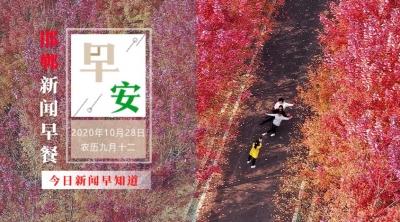 10月28日 邯郸新闻早餐(语音版)