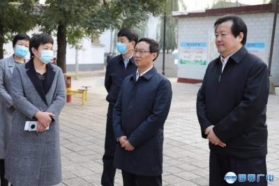 邯郸V视 | 张维亮到大名县调研检查脱贫攻坚工作