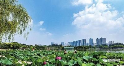 邯郸:打造天蓝水净、地绿山青的生态绿城