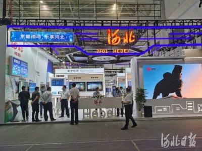 汇集数字成果 展示河北魅力  河北26家单位亮相数字中国建设成果展