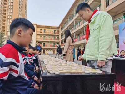 开营了!河北省青少年象棋夏令营来到邯郸