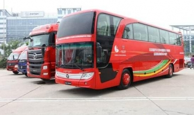 中国客车 一路向上