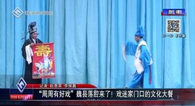 """""""周周有好戏""""魏县落腔来了!戏迷家门口的文化大餐"""