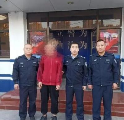 邯山警方抓获一名外省逃犯