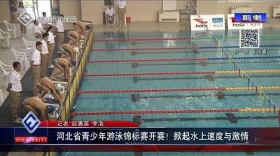 河北省青少年游泳锦标赛在邯郸开赛!掀起水上速度与激情