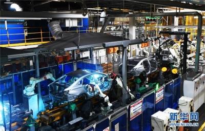 """中国新能源汽车产业加速""""弯道赶超"""""""