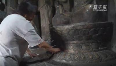 河北邯郸:石窟守护人