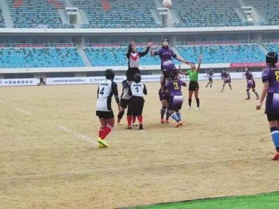 魏县一中勇夺全国青少年英式橄榄球赛第一名