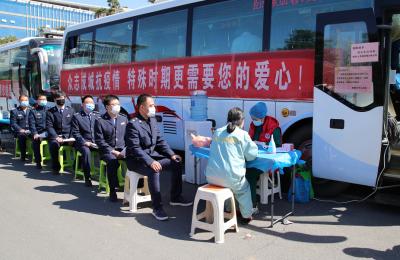 邯郸市再获全国无偿献血先进城市殊荣