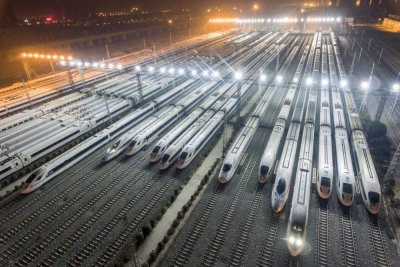 中国高铁里程五年倍增 里程稳居世界第一出行更便捷