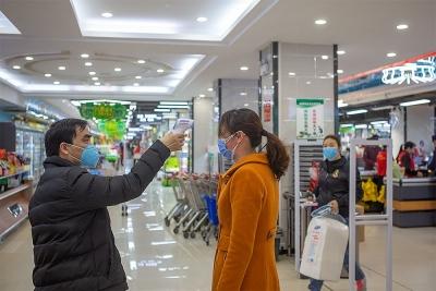 魏县营造安全购物环境