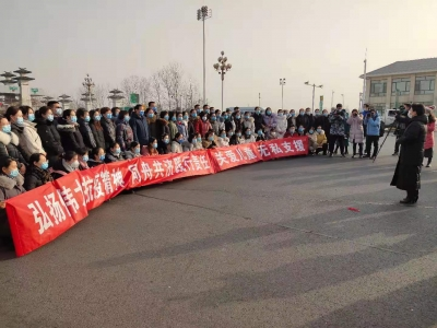 邯郸市第五批72名医护人员支援石家庄