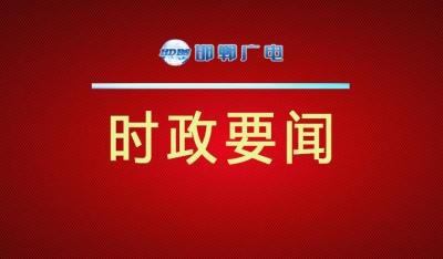 邯郸V视丨夏延军在第六届省旅发大会筹备工作现场会上要求  突出产业属性 加快文旅融合 高标准做好各项筹备工作