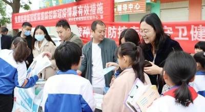 邯鄲市開展全國兒童預防接種宣傳日活動