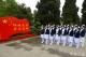 邯鄲市第三醫院組織護理人員到晉冀魯豫烈士陵園謁陵