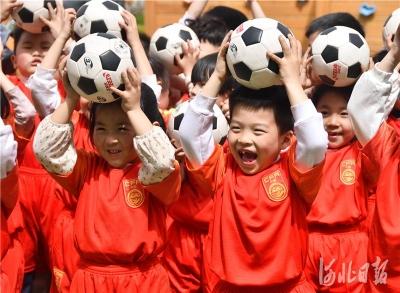 邯鄲永年:足球進校園