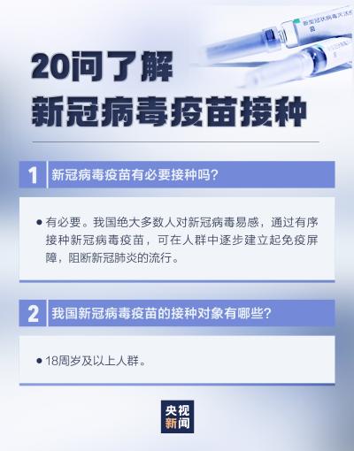 @邯郸人,你要的新冠疫苗接种解答在这里!