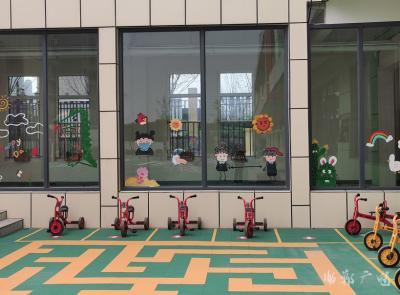 叢台區第二幼兒園:環境潤無聲 習慣入心中