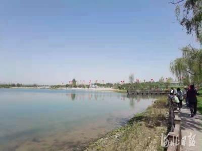 邯鄲:渚河源郊野公園開園