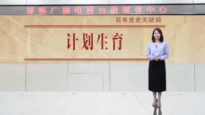 邯鄲V視|百年黨史關鍵詞(五十)——計劃生育