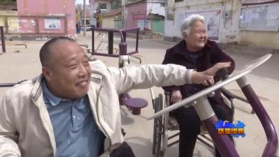 廣平劉海生:輪椅上的孝道故事