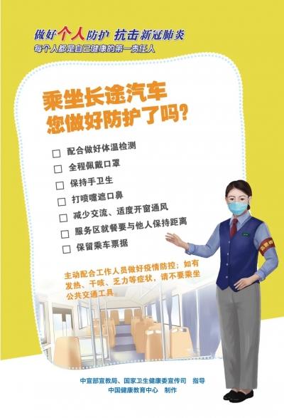 做好個人防護,抗擊新冠肺炎
