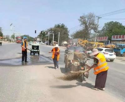 我為群眾辦實事 | 邯山區交運局全力抓好公路管養工作 國慶期間保暢通