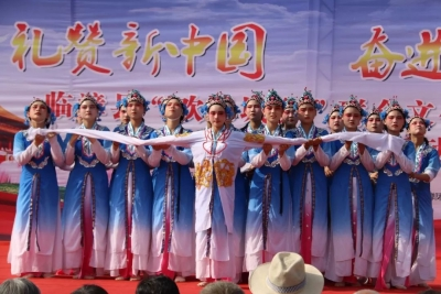 """临漳这个村人山人海!""""美丽临漳·欢乐城乡""""文明实践主题活动点燃群众热情!"""