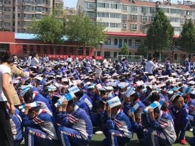 临漳开展地震应急疏散演练