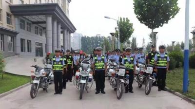 臨漳交警關于自行車比賽期間實施交通管制的通告